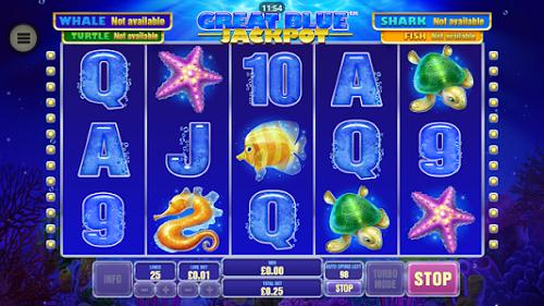 플레이텍-릴게임-Great Blue Jackpot