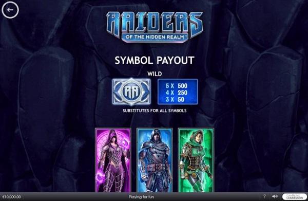 플레이텍-릴게임-Raiders Of The Hidden Realm
