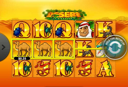 플레이텍-릴게임-Desert Treasure