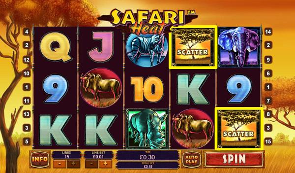 플레이텍-릴게임-Safari Heat