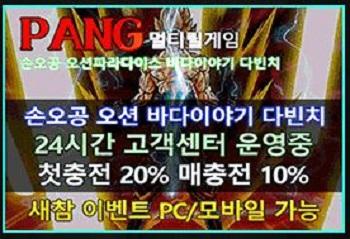 릴게임사이트-PANG 릴게임