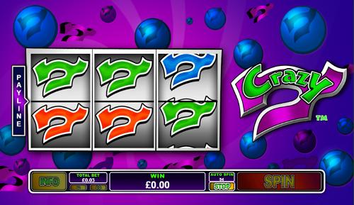 플레이텍-릴게임-Crazy 7 Slot