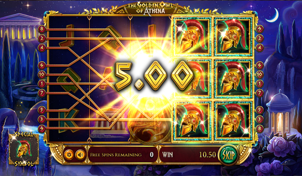 벳소프트-릴게임-Golden Owl of Athena